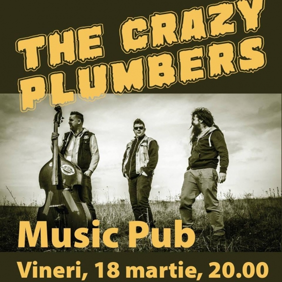 Trupa The Crazy Plumbers in concert la Bistrita
