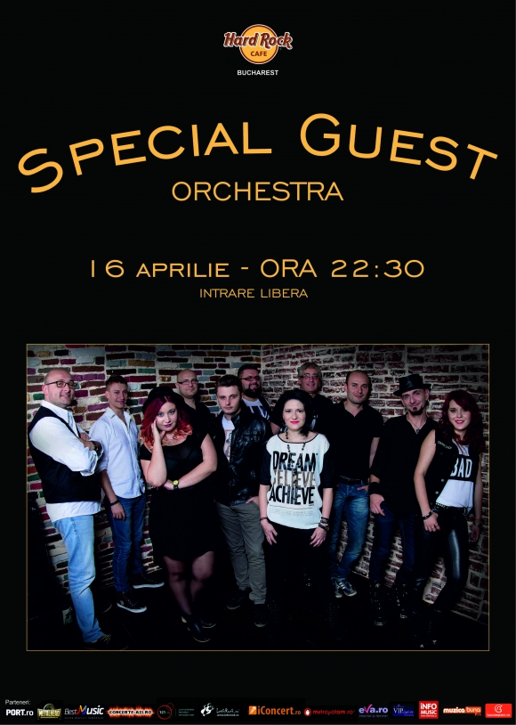 Concert Special Guest Orchestra la Hard Rock Cafe