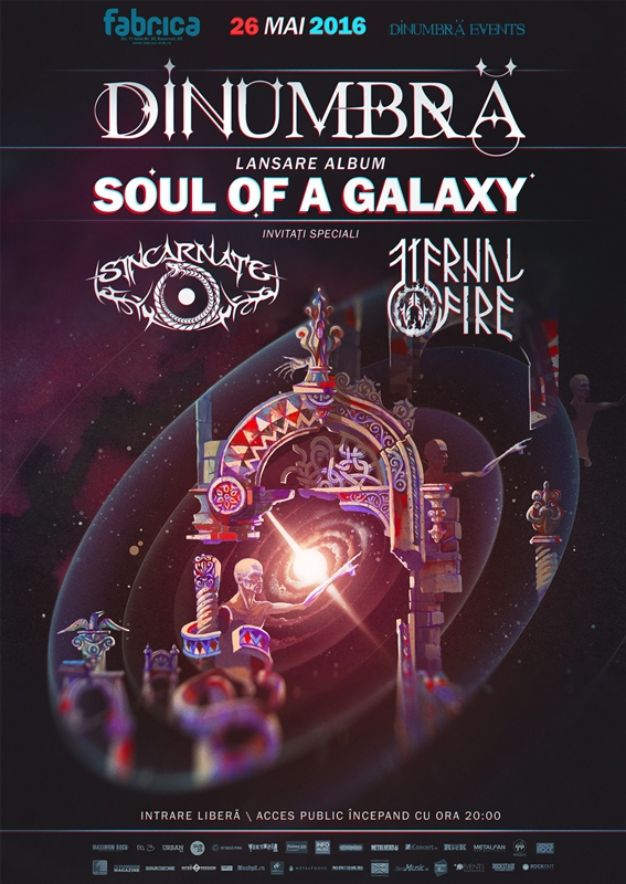 DinUmbra lanseaza Soul Of A Galaxy in Club Fabrica