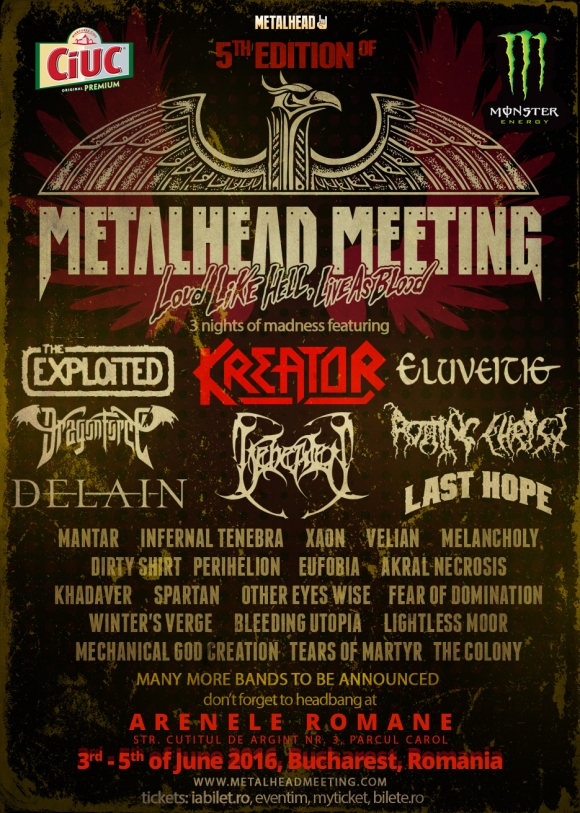 Festivalul Metalhead Meeting 2016