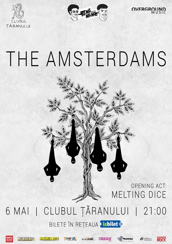 Concert The Amsterdams si Melting Dice la Clubul Taranului din Bucuresti