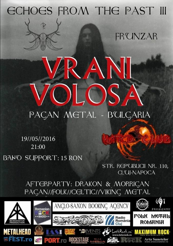 Concert Vrani Volosa in Hard Club din Cluj
