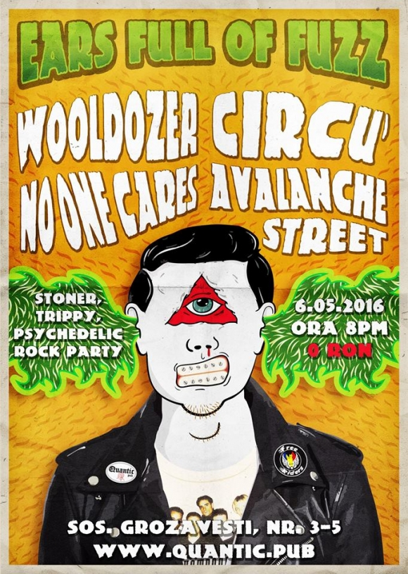 Concert Wooldozer, Circu', Avalanche Street, No One Cares in Quantic Pub 2