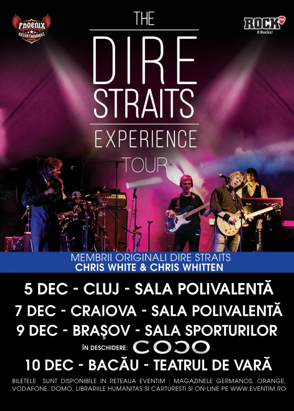 The Dire Straits Experience in concert la Brasov