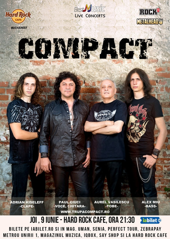 Concert Compact - Remember the 80s, la Hard Rock Cafe