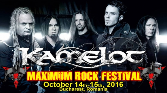 Trupa Kamelot a fost confirmata la Maximum Rock Festival 2016