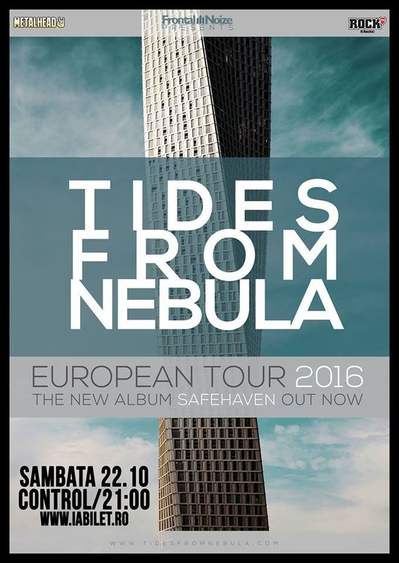 Trupa Tides From Nebula in concert la Bucuresti