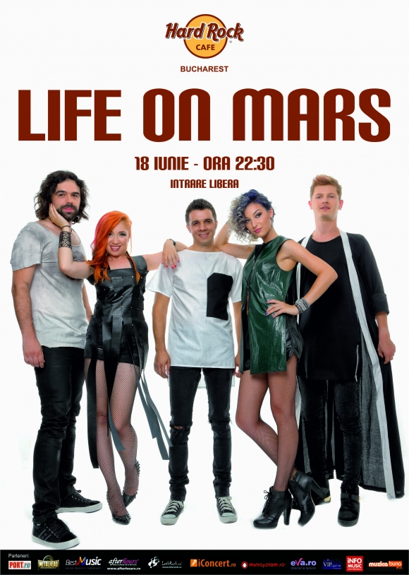 Un nou concert Life on Mars la Hard Rock Cafe