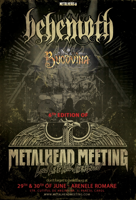 Behemoth si Bucovina, primele doua nume confirmate la METALHEAD Meeting 2017