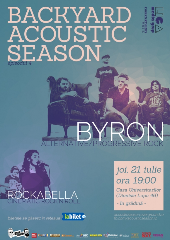 Concert byron si Rockabella la Backyard Acoustic Weekend