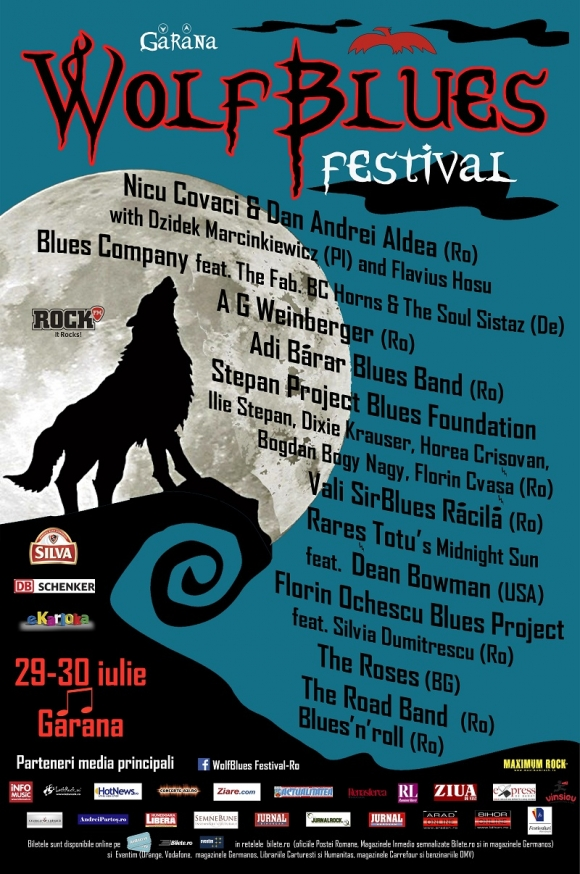 Program Wolfblues Festival la Garana