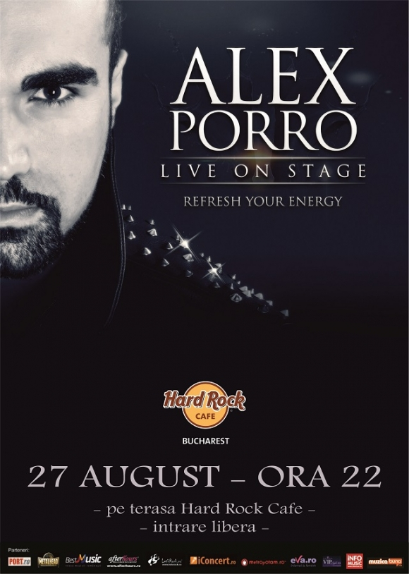 Concert Alex Porro Band in Hard Rock Cafe