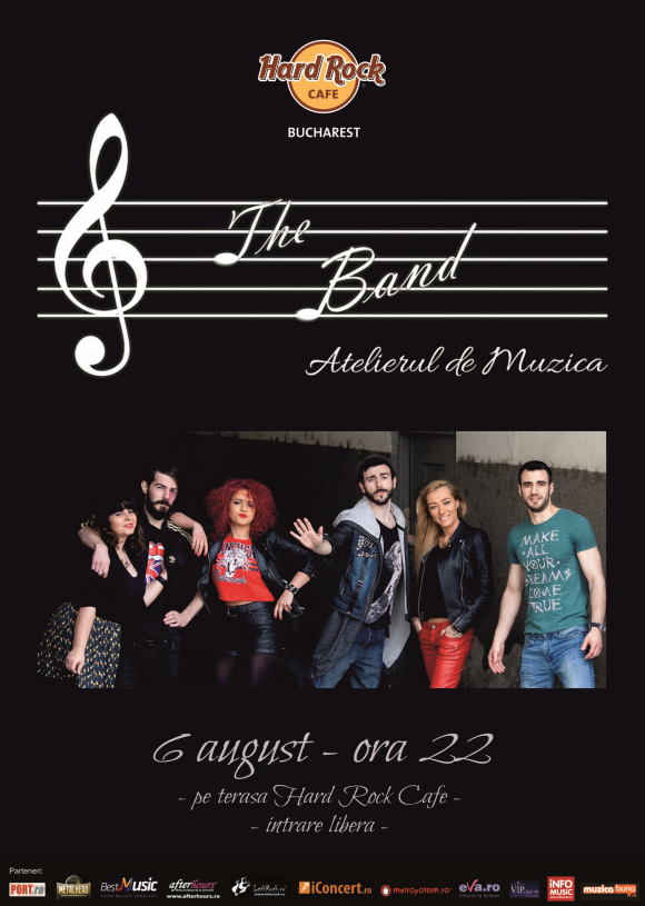 Concert The Band la Hard Rock Cafe, 6 august 2016