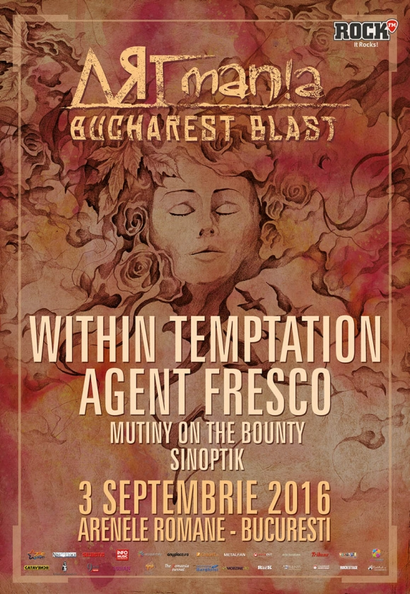 Within Temptation confirma participarea la prima editie ARTmania Bucharest Blast