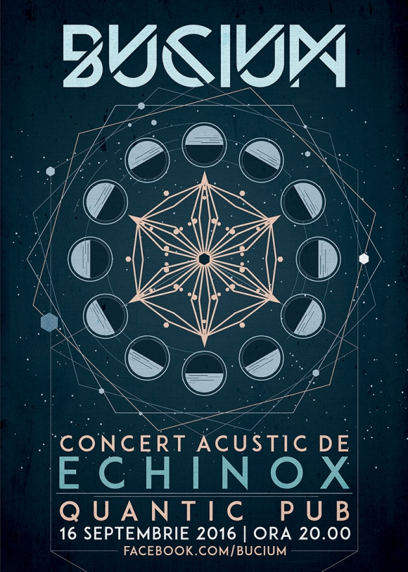 Concert acustic Bucium in club Quantic