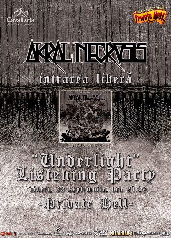 Prima auditie a noului album Akral Necrosis, in Private Hell