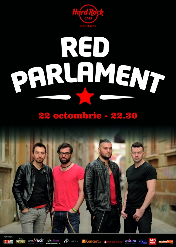 Trupa Red Parlament in concert la Hard Rock Cafe