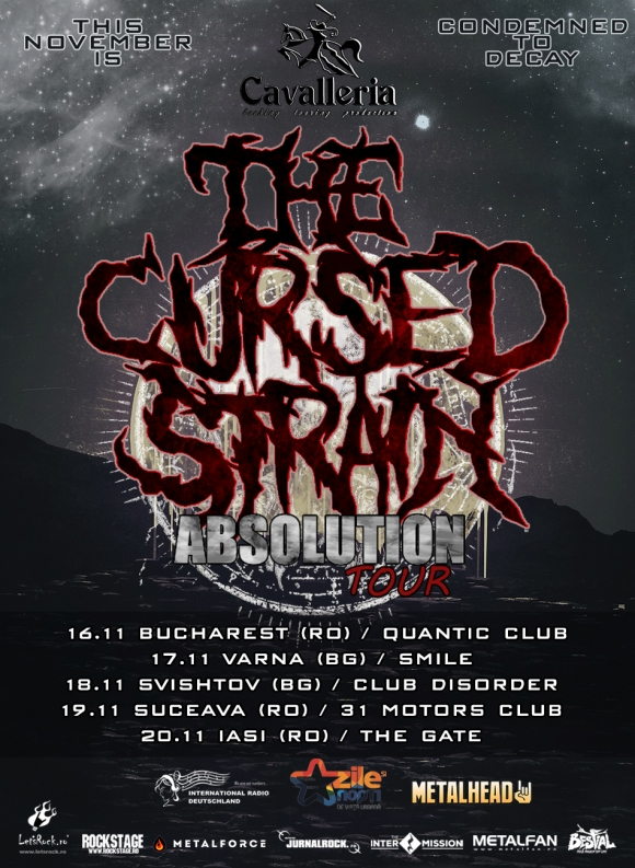 Trupa The Cursed Strain porneste in Absolution Tour