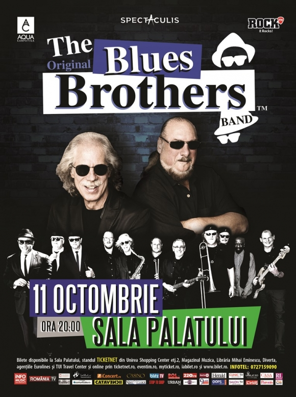 Video mesajul trupei The Original Blues Brothers Band catre fanii din Romania