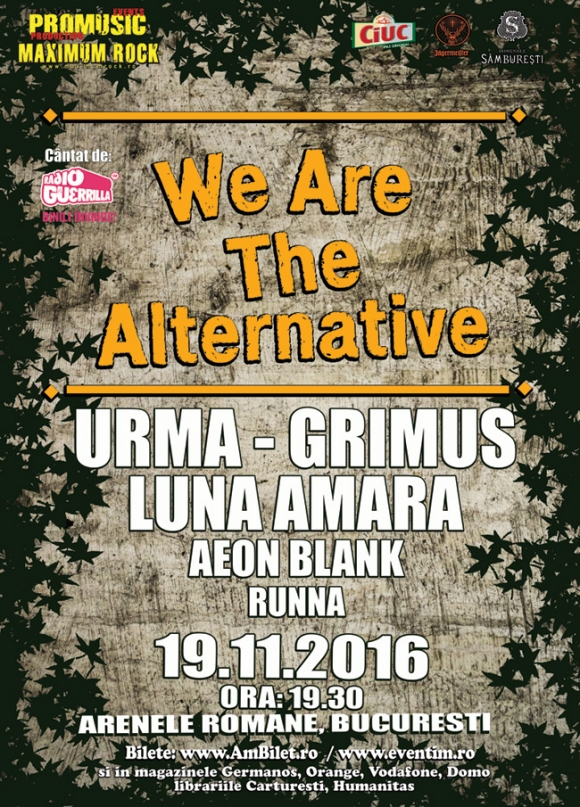 Debutul trupei Runna va avea loc la We Are The Alternative