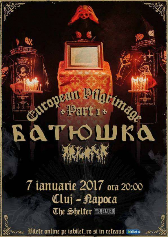 Concert Batushka, Arkona & Guests in club The Shelter din Cluj-Napoca