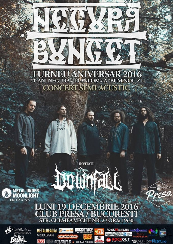 NEGURA BUNGET, Downfall (Metal Under Moonlight LXV, 19.12.2016)