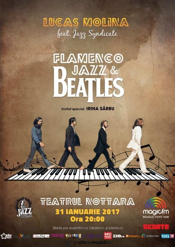Beatles Flamenco Jazz de la Teatrul Nottara se apropie de Sold Out