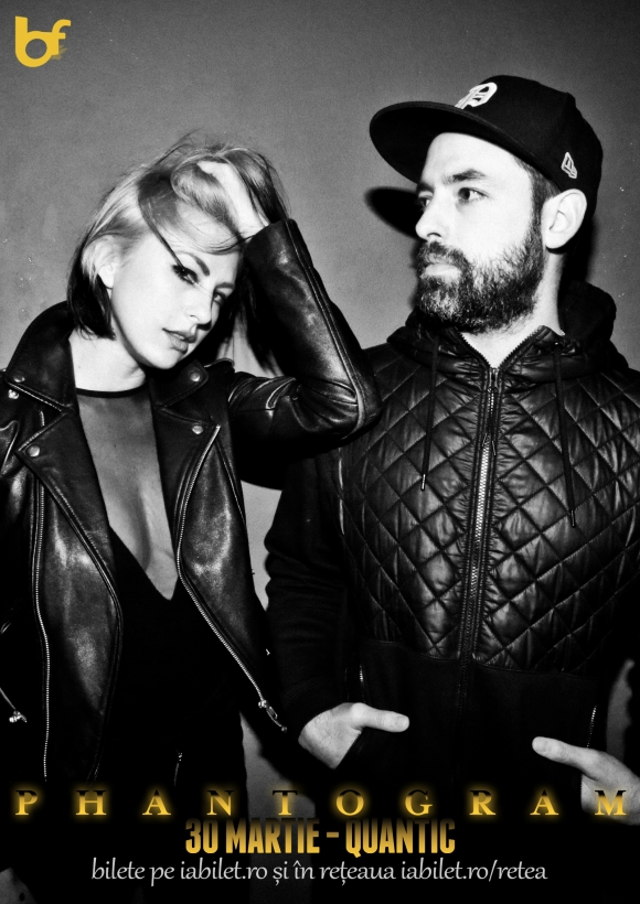 Concert Phantogram in premiera la Bucuresti