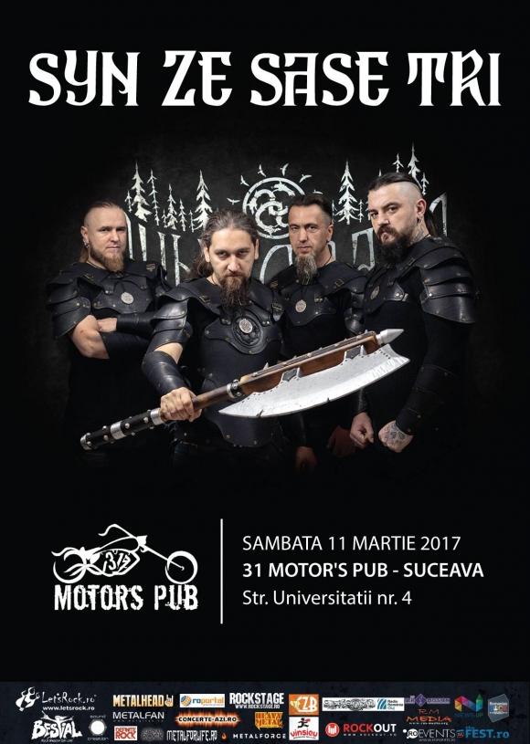 Concert Syn Ze Sase Tri pentru prima data in Suceava