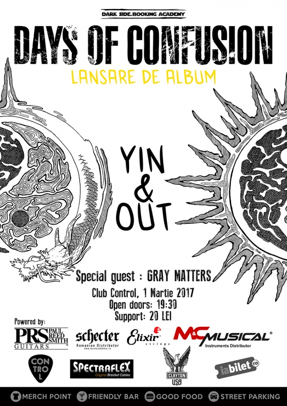 Days Of Confusion lanseaza Yin & Out, primul album al formatiei, in club Control