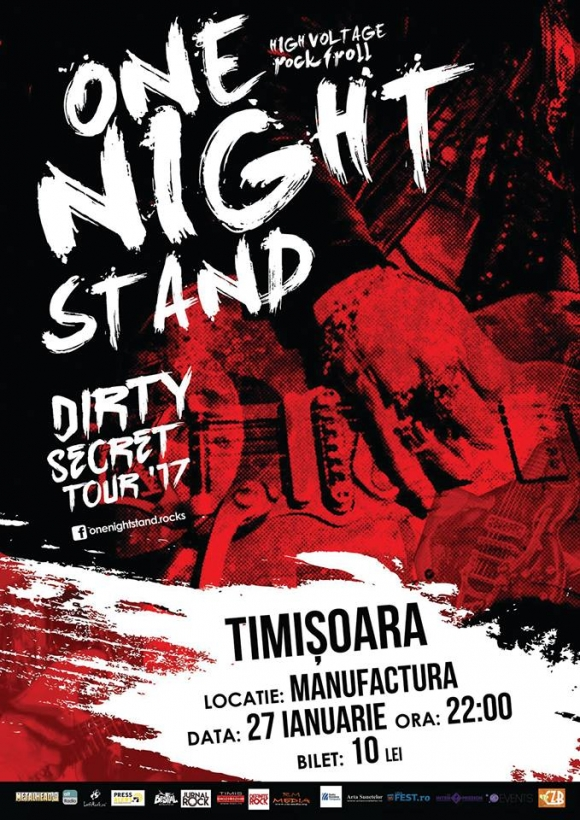 Onenightstand va lansa single-ul Dirty Secret la Timisoara