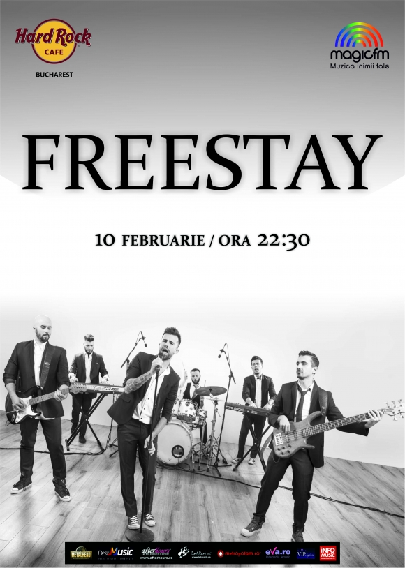 Concert FREESTAY in Hard Rock Cafe