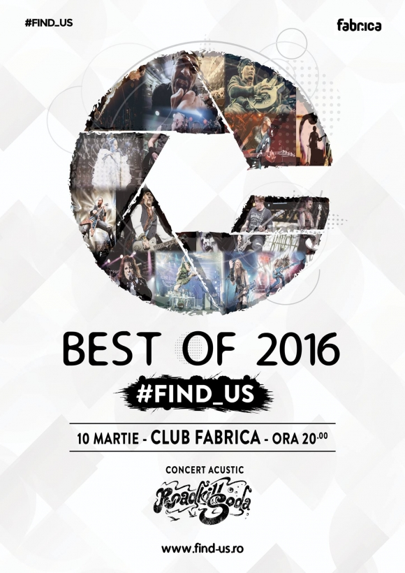 Expozitie de fotografie #Find_Us – Best of 2016 si concert acustic RoadKillSoda