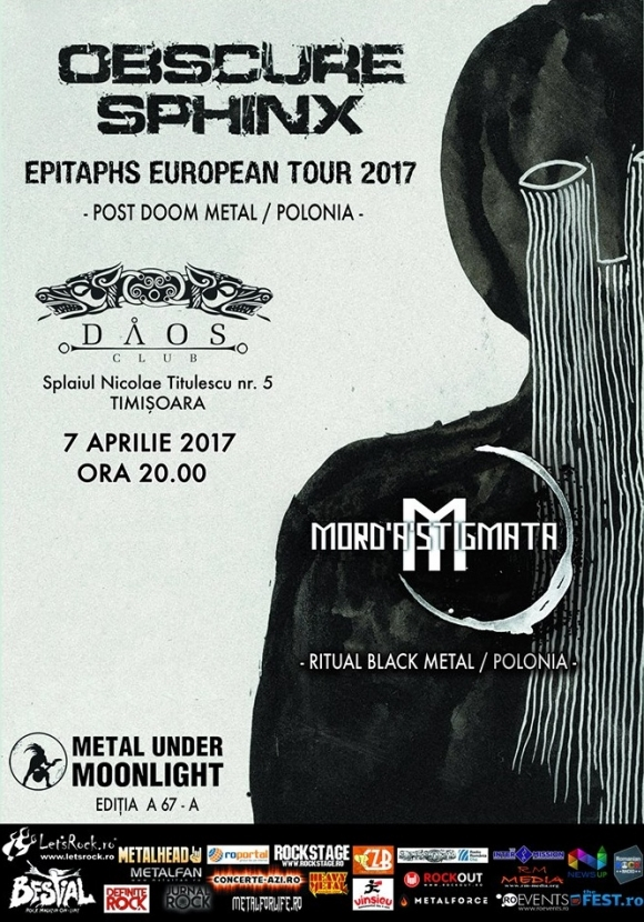 OBSCURE SPHINX, Mord'A'Stigmata (Metal Under Moonlight LXVII, 07.04.2017)