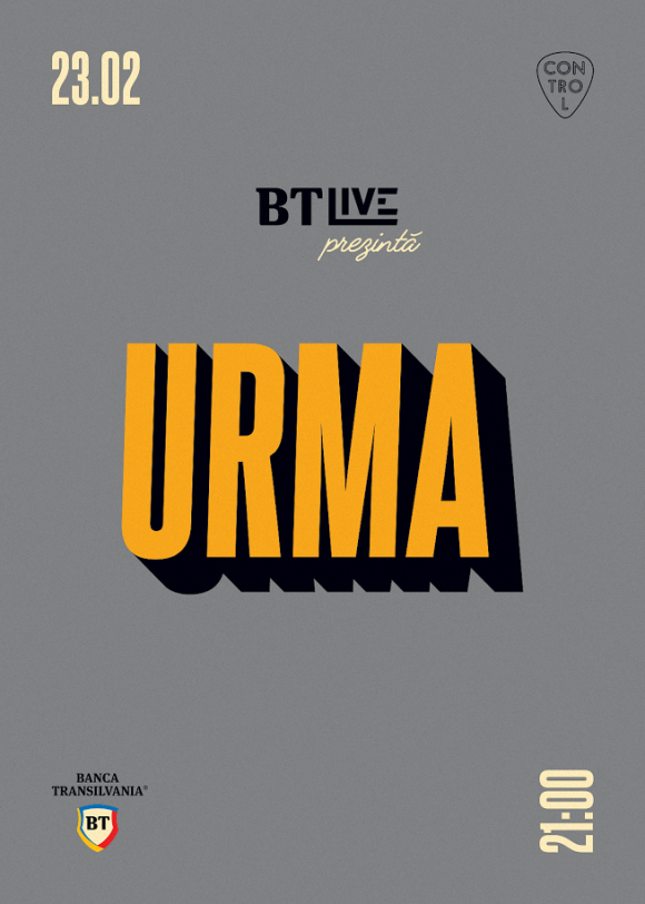 Trupa URMA la BT Live - powered by Banca Transilvania