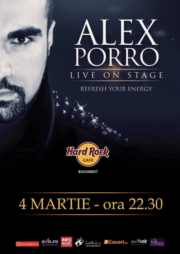 Concert Alex Porro Band la Hard Rock Cafe
