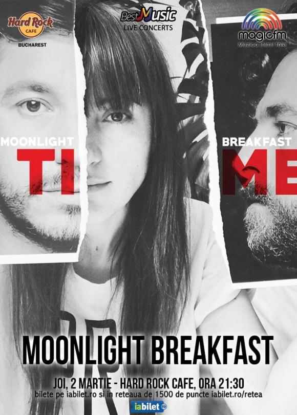 Concert Moonlight Breakfast la Hard Rock Cafe