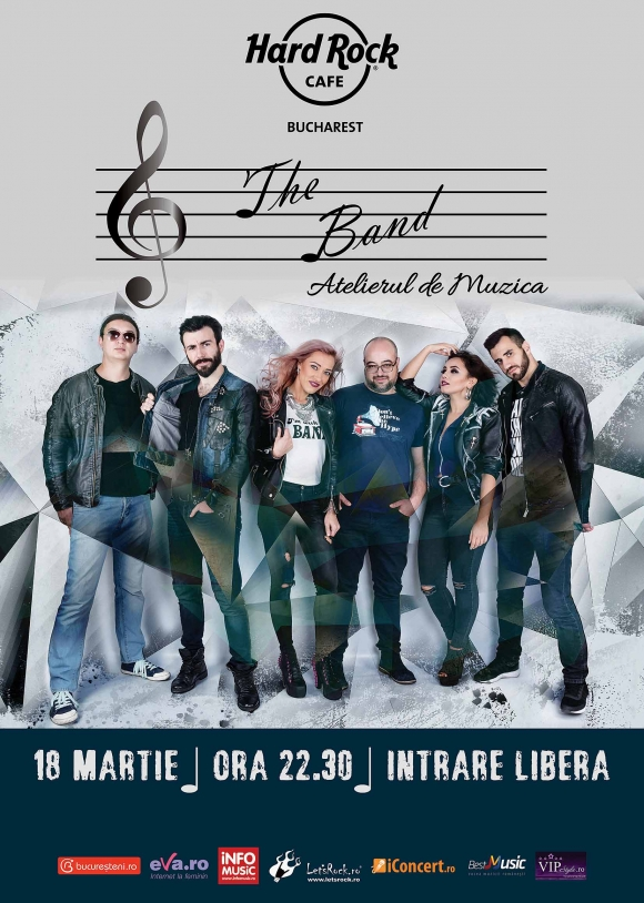 Concert The Band la Hard Rock Cafe pe 18 martie