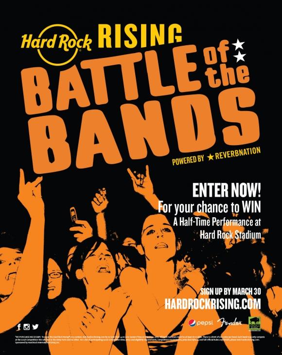 Detalii despre concursul de talente Hard Rock Rising 2017