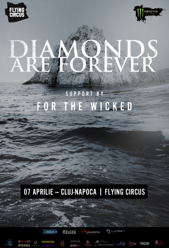 Diamonds Are Forever lansaeaza noul album - Melanism, la Cluj-Napoca