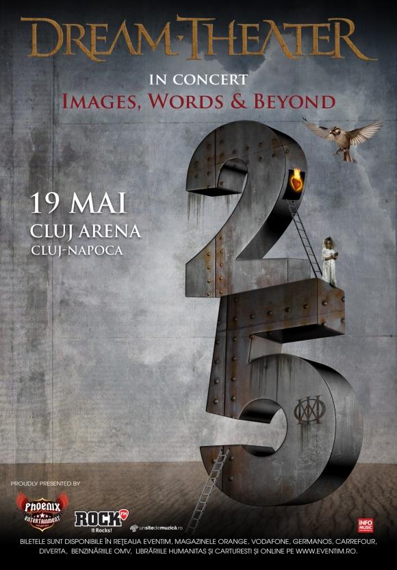 Dream Theater aniverseaza 25 de ani de Images and Words prin 2 show-uri in Romania