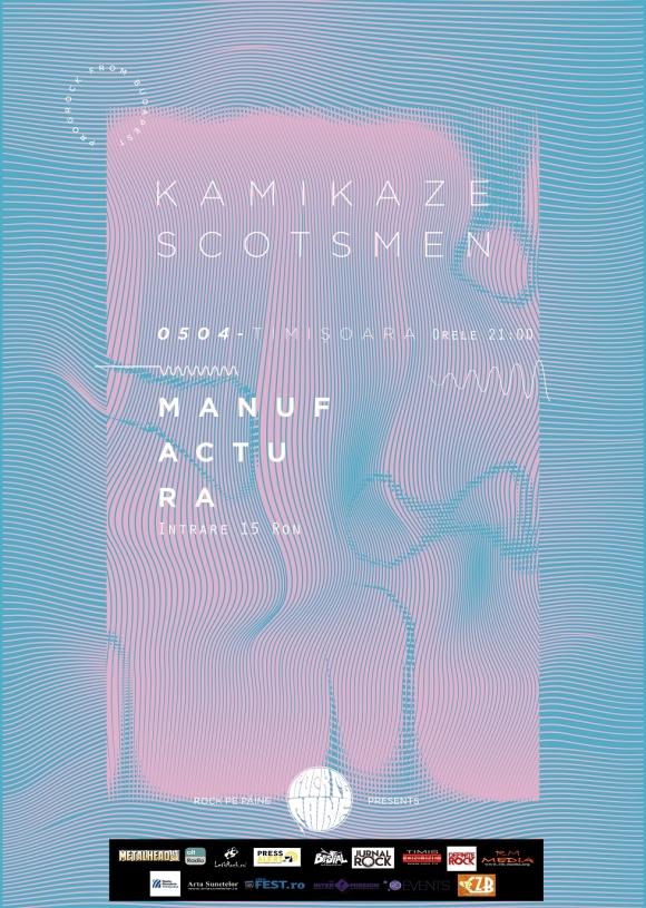Kamikaze Scotsmen (HU) concerteaza in premiera in Romania