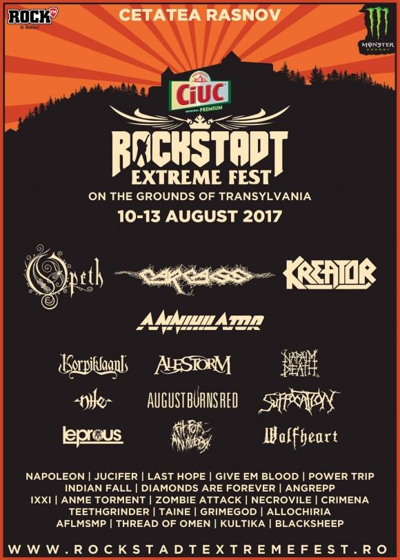 Kreator confirmati pentru Rockstadt Extreme Fest 2017