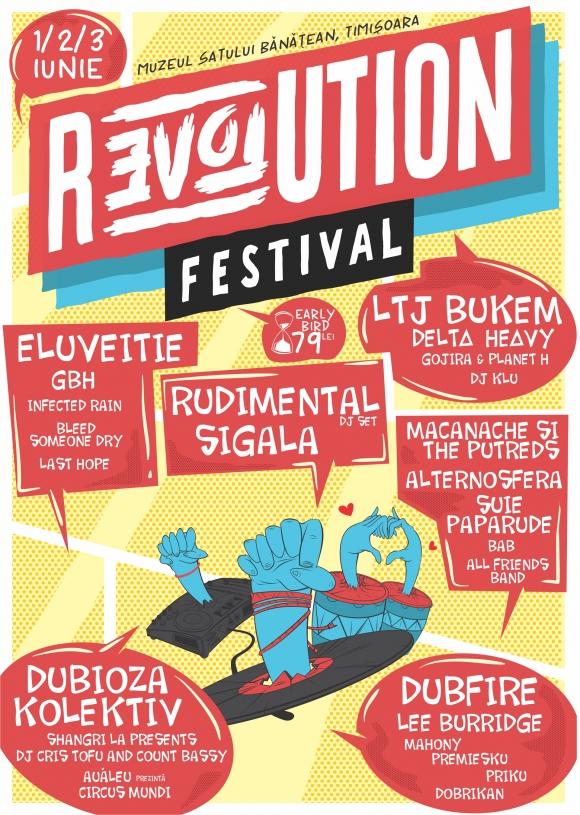 La Timisoara va avea loc Revolution Festival, eveniment non-stop de trei zile