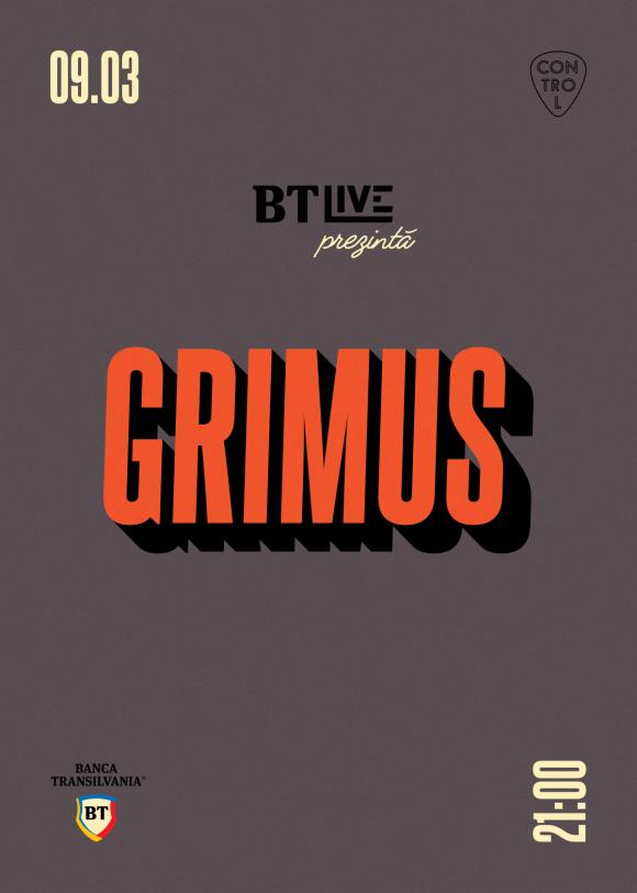 Seara BT Live cu Grimus in club Control