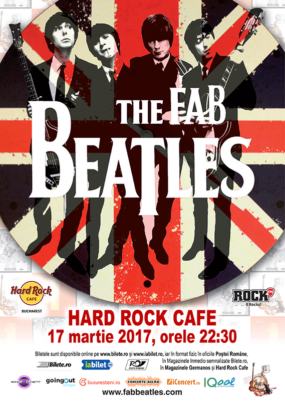 The Fab Beatles concerteaza la Hard Rock Cafe