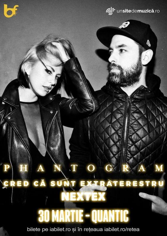 Trupa Next Ex canta alaturi de Phantogram (US) si CCSE pe 30 martie in Quantic