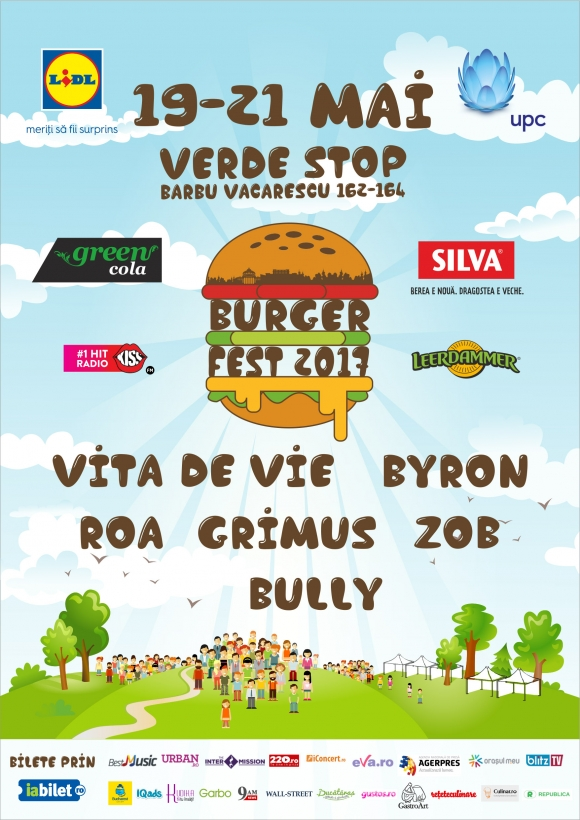 Burgerfest 2017 are un super line-up