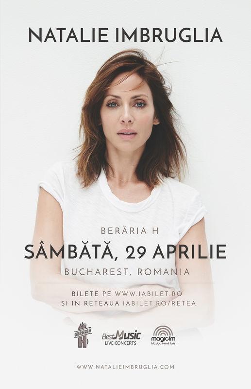 Categoria A de bilete pentru concertul Natalie Imbruglia la Bucuresti este Sold Out