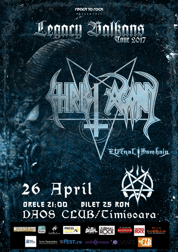 Concert Christ Agony si Eternal Samhain in Club Daos din Timisoara